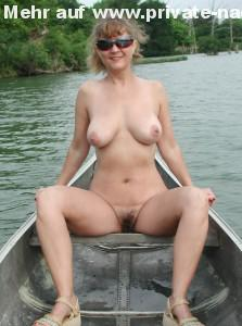 privates nacktfoto meine frau nackt auf dem boot