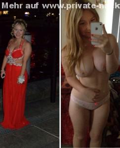 sexy milf macht ein nackt selfie von sich fuer whatsapp