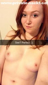 ginger snapchat schlampe nacktfoto