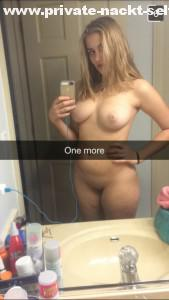 snapchat nackt selfie im bad